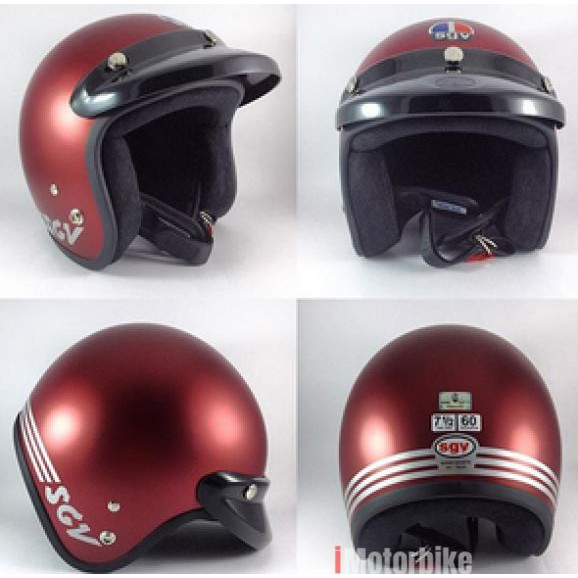 SGV Helmet Matt series #Matt Blue / Matt Black / Matt Red / Matt Grey