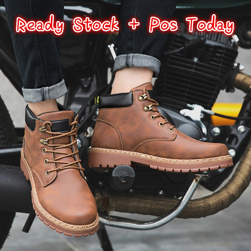 30a5782c8b5 Ready Stock ! Men's Timberland Tooling Work Martin Boots Casual Ankle Boots