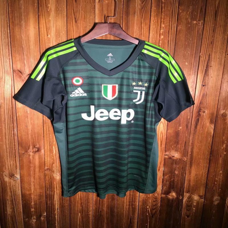 timeless design 73681 6fc15 2018 2019 juventus goalkeeper soccer jersey