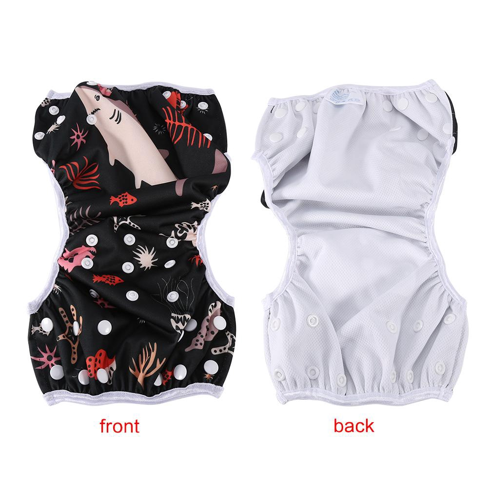 Ypingliang Baby Reusable Breathable Swim Diapers Summer Pool Training Pants 6 Patterns MP