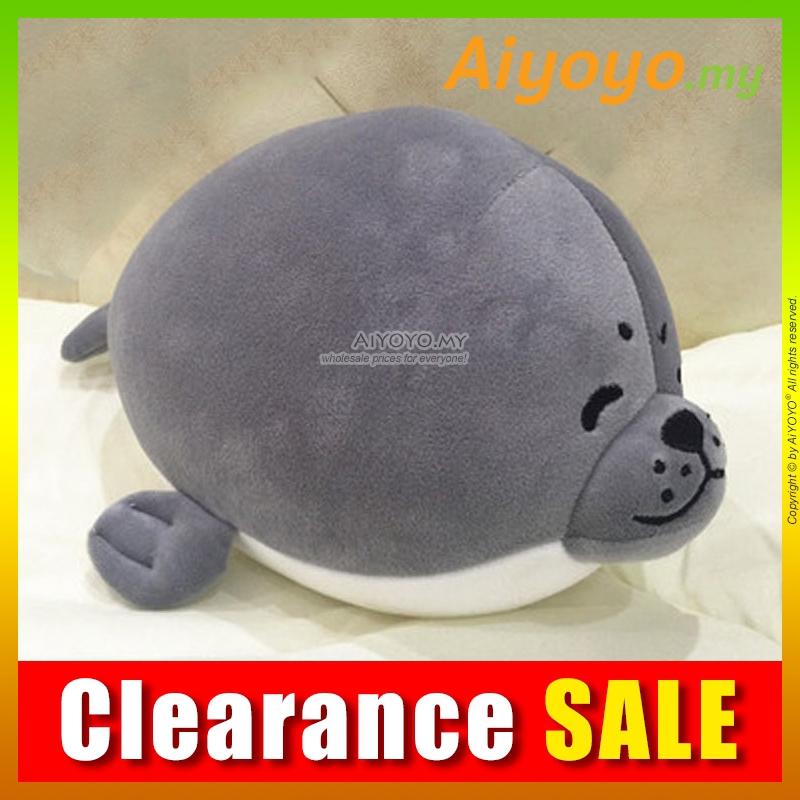 Fur Seal Bean Toy 25CM Stuffed Plush Soft Teddy Bear Doll Toys Cushion Pillow
