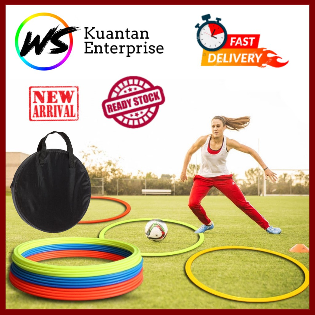 【100% Ready Stock】New Top Agility & Speed Rings (Free Carry Bag)