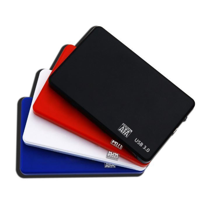 Mobile 2.5 HDD external case USB 3.0 serial notebook external SATA Hard Disk Box