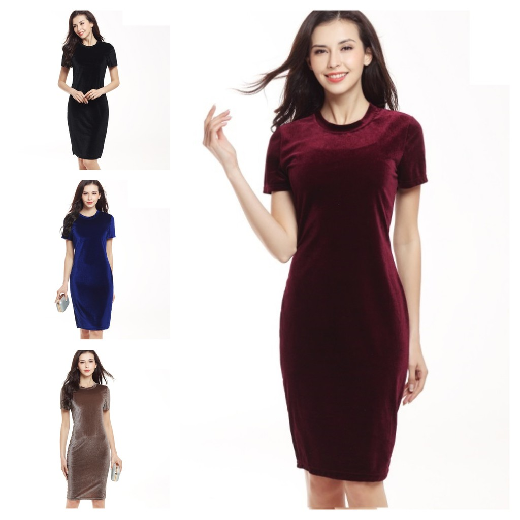 8a4d2d4d77ffe 5 Colors (🇲🇾Ready Stock)Women Dresses Long Blouse working maxi mini dress  Girl