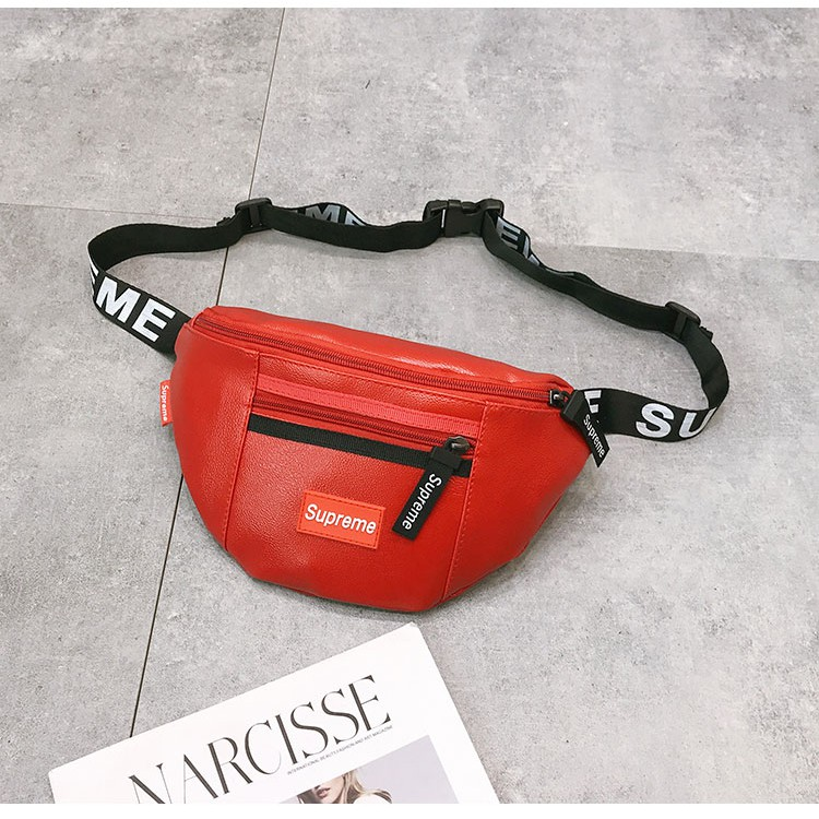 c4d1bdd7d92 Supreme Men   Women Sling Bag Waist Bag Pouch Chest Bag