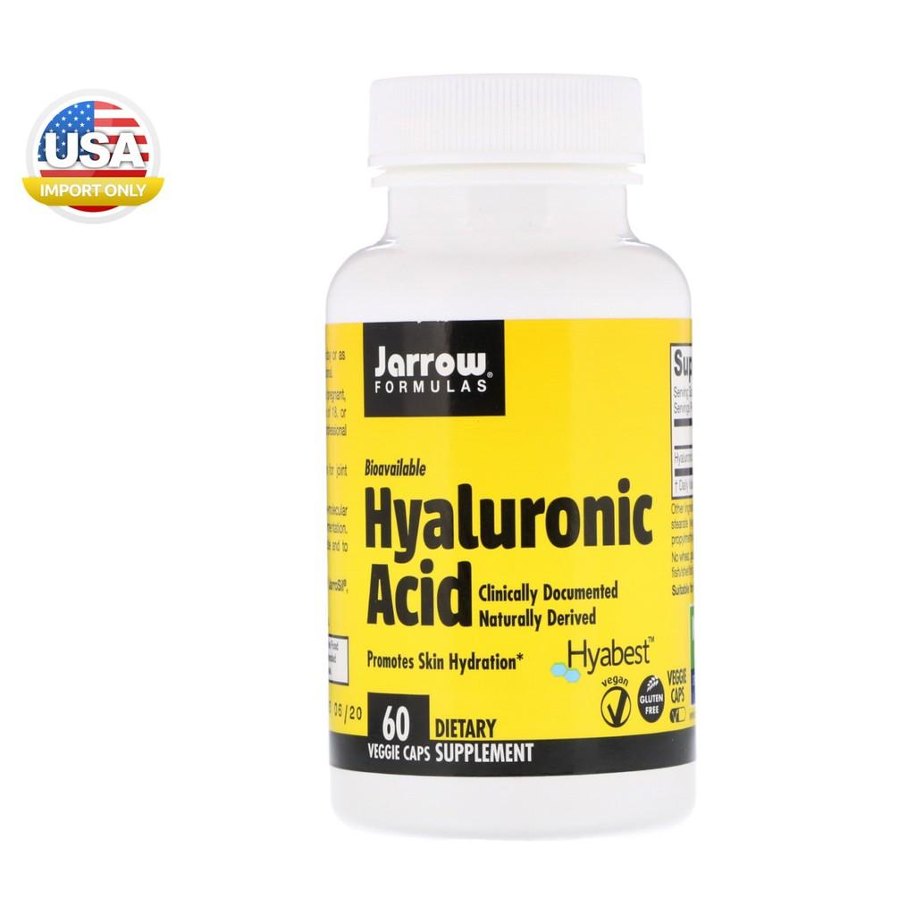 พร้อมส่ง_Jarrow Formulas, Hyaluronic Acid, 60 Veggie