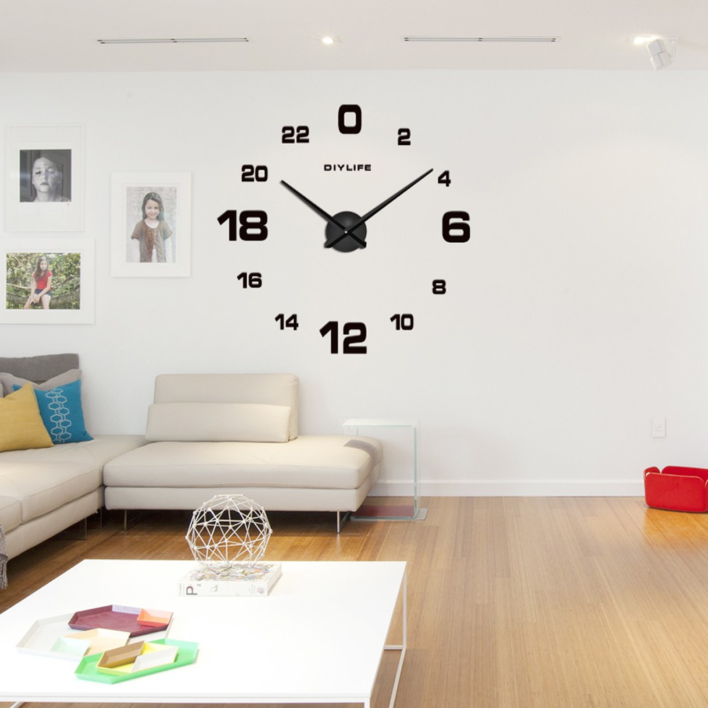 Large LED Digital Wall Clock Time Display With Alarm and Snooze ...
