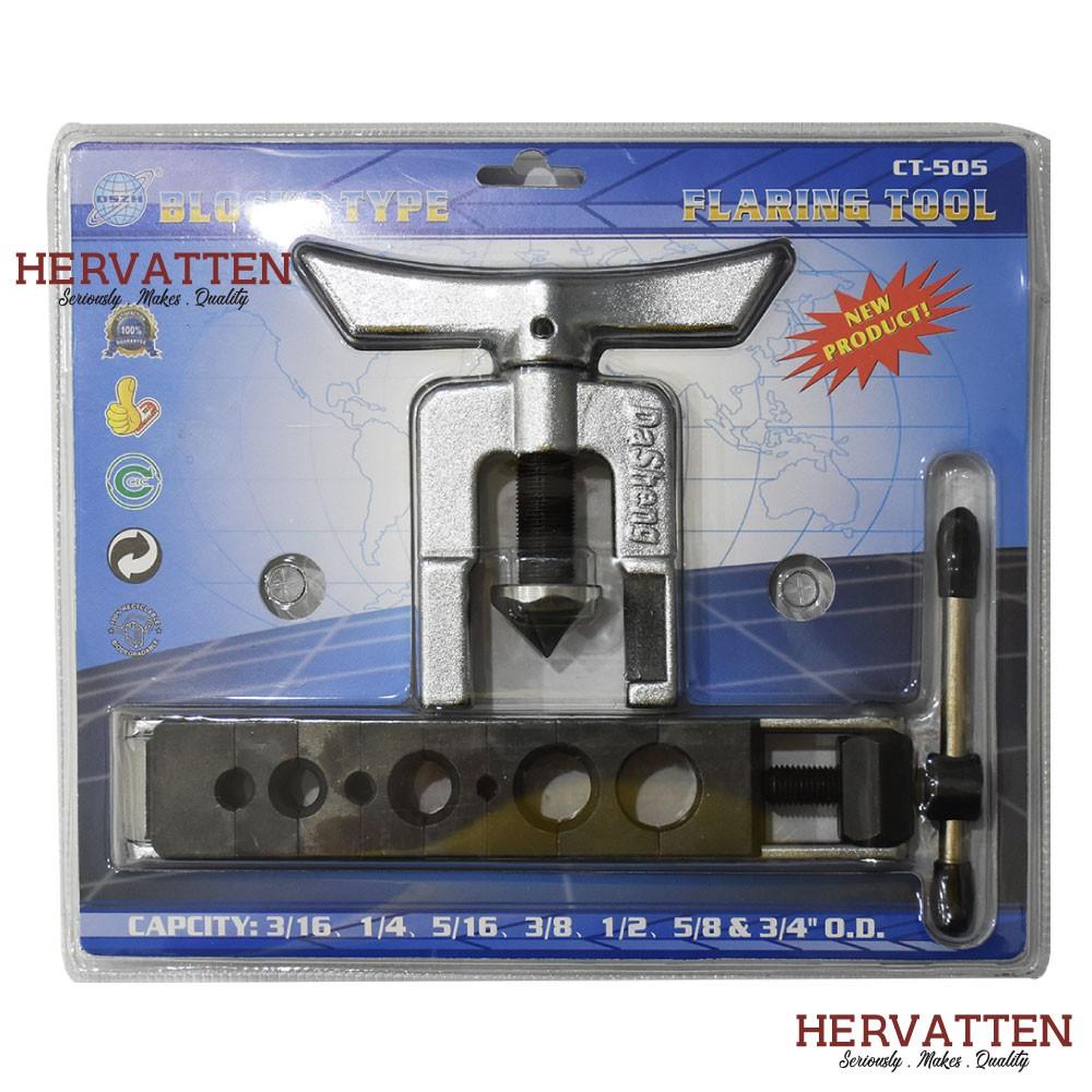 Durable Dies Tubing Pipe Flaring Tools Set 3//16-5//8 Air Brake Line Flaring Tubes