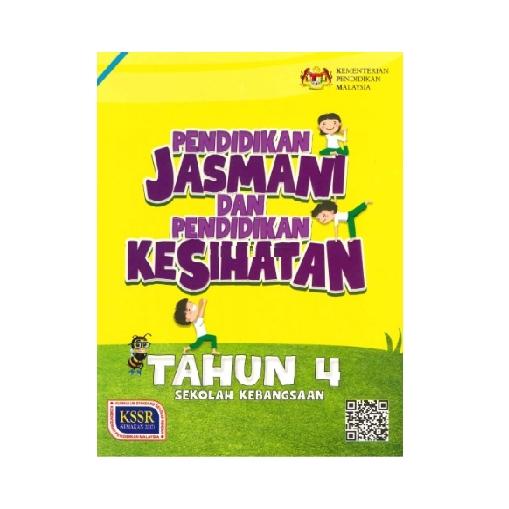 Buku Teks Pendidikan Jasmani Dan Pendidikan Kesihatan Tahun 4 Sk Shopee Malaysia