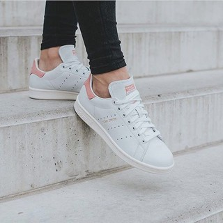 purchase cheap 2315f 5faad Authentic Adidas Stan Smith powder tail couple casual sneakers shoes S80024
