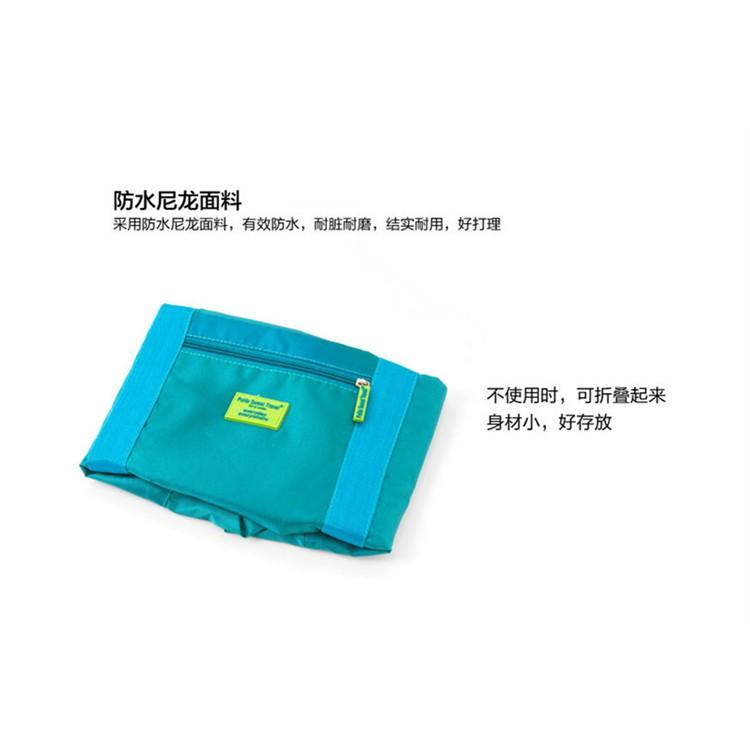 Foldable Bag Organizer/ Multipurpose Travel Nylon HandBag