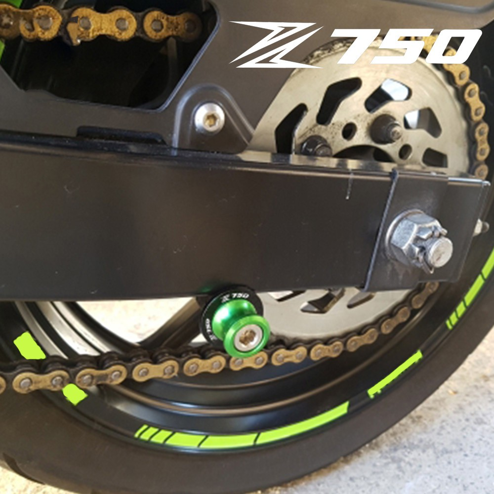 CNC Aluminum Motorcycle 10MM Swingarm Swing arm Spools Sliders For Kawasaki Ninja 400R 400 R ER 4N ER4N 2009-2017
