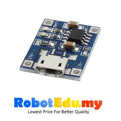 TP4056 1A Li-ion LiPo Battery Charging, Mini Micro USB Power Charger