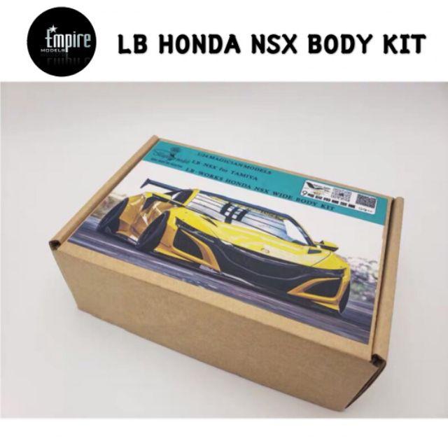 GK 1/24 LB-Works Honda NSX Wide Body Transkit For Tamiya Model car