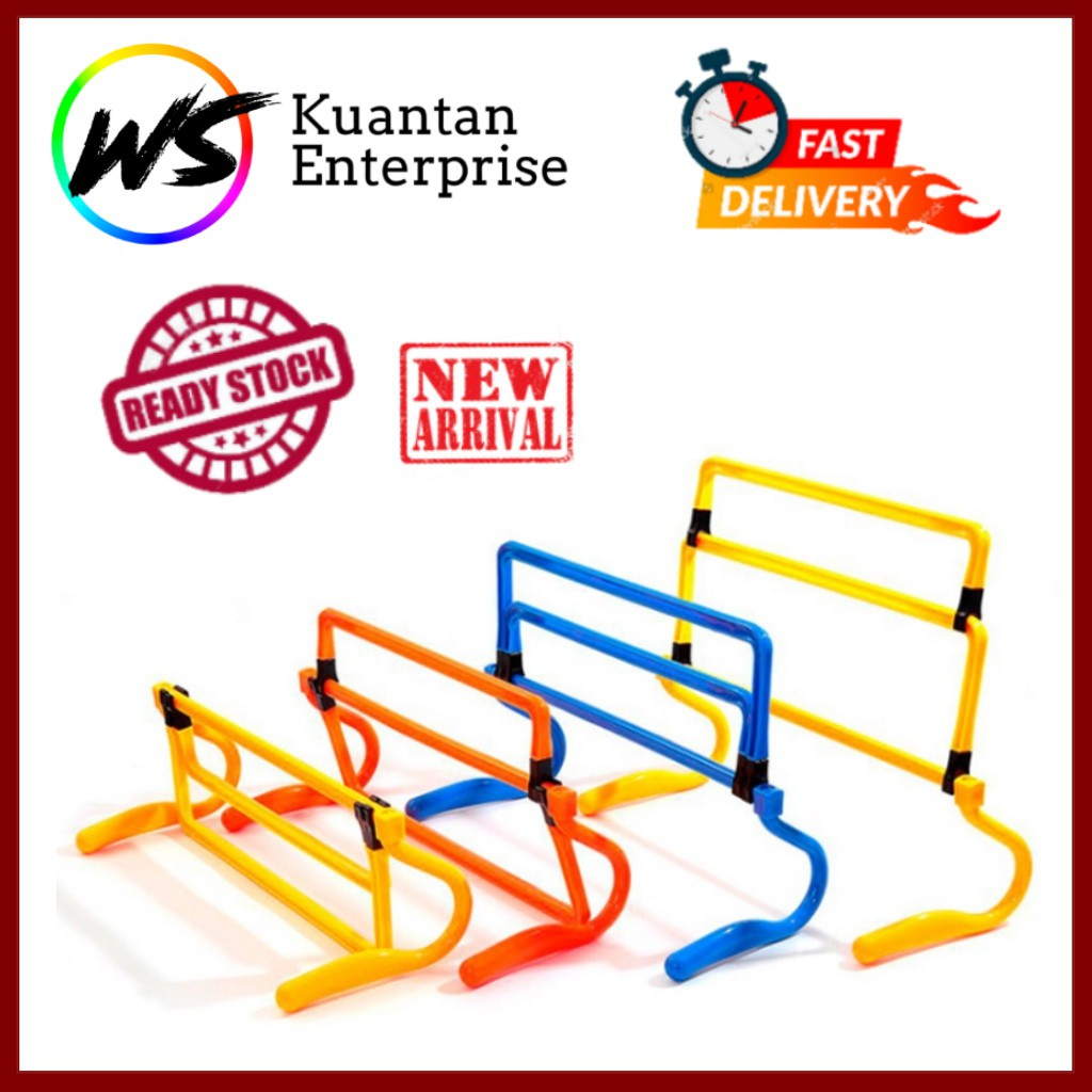 【100% Ready Stock】Multilevel Adjustable Mini Hurdle