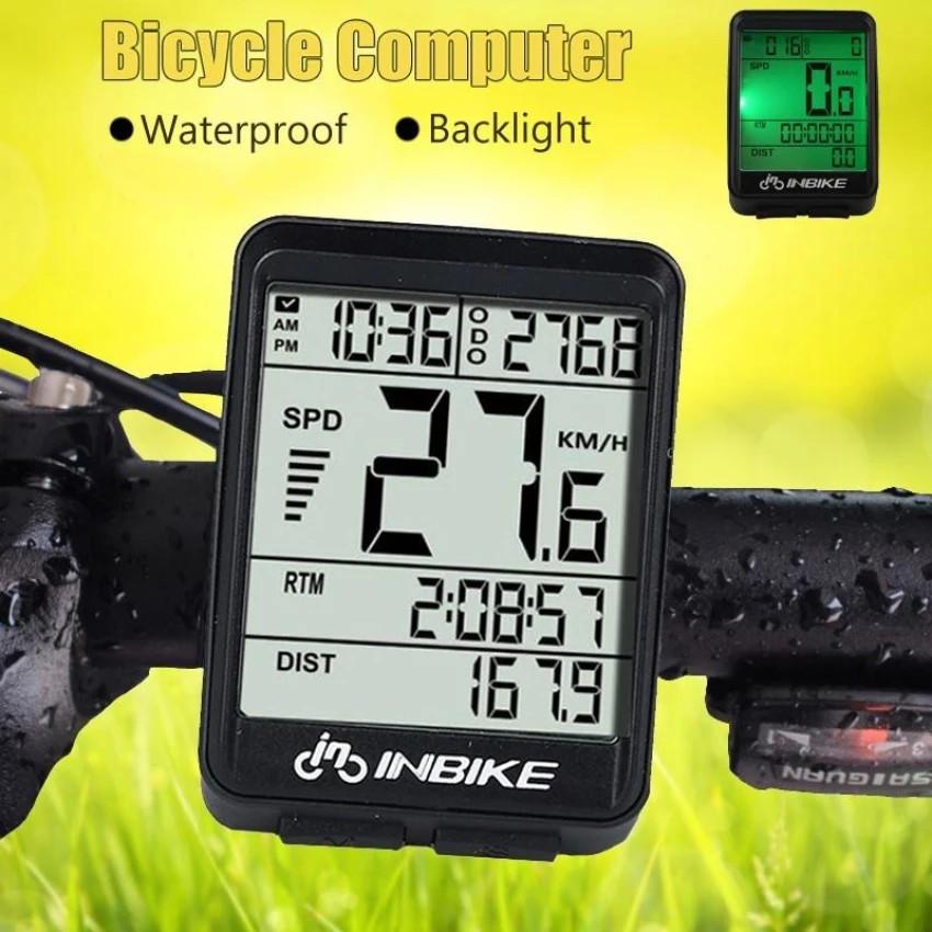 SUNDING Bike LCD Computer Wireless/Wired Bicycle Cycling Speedometer Odometer | Shopee Malaysia