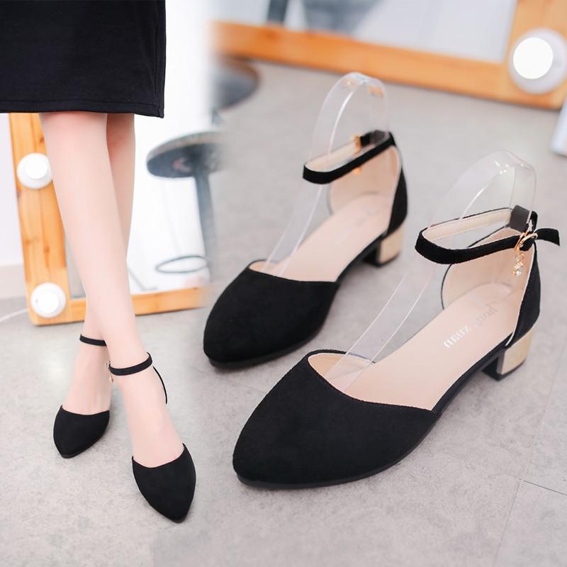 ed346eaab91c Korean Stylist High Heels Shoes Kasut Murah Ladies Women Lina812 ...