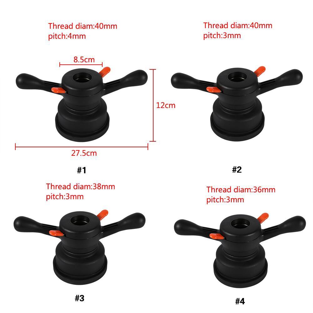 Thread Diameter 36mm, Pitch 3mm Quick Release Wing Nut & Pressure ...