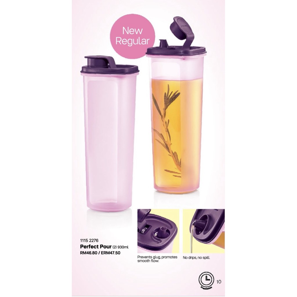 Tupperware Perfect Pour 930ml (for soy sauce / oil)