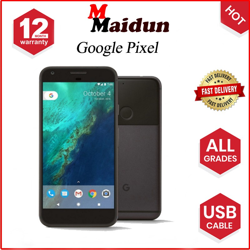 Google pixel 128G Mobile Phone 4G Android Smartphone 5 0