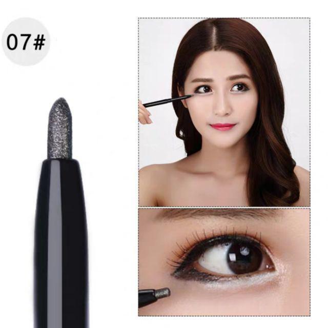 [ READY STOCK ]  2 In 1 Pencil & Eye Shadow Sponge Pen Comestic Tool Jualan Murah Makeup Girl Brush Waterproof Pensil