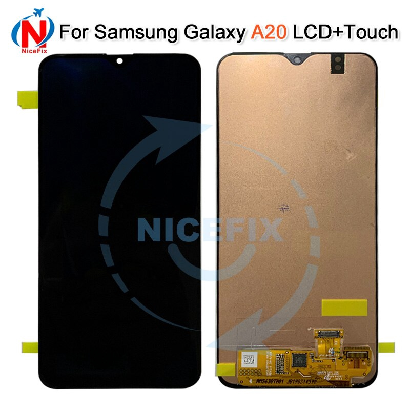 c9bae8503821a5 ProductImage. ProductImage. For Samsung galaxy A20 lcd Digitizer A205/DS  A205F A205FD A205A Display Touch Screen Digitizer Assembly