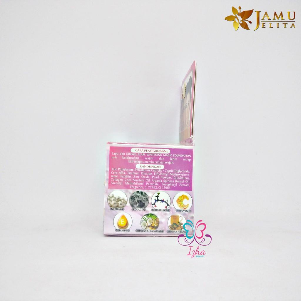 [JAMU JELITA] Pearl Whitening Magic Foundation - 5g