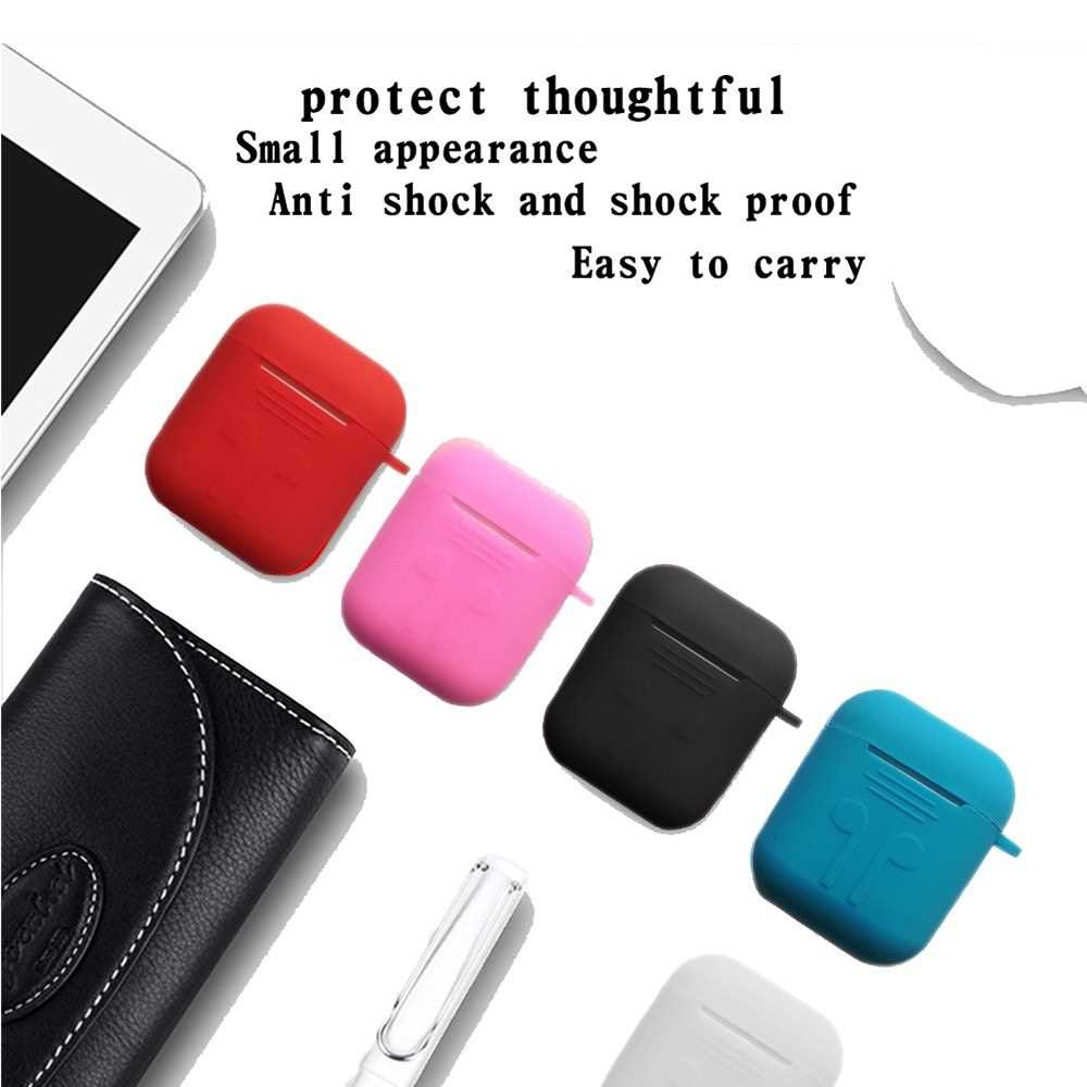 Soft Silicone Shock Proof Headphones Storage Box (Blue)
