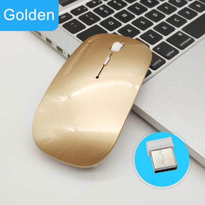 7fc5c5468867 Wireless 2.4Ghz Bluetooth 4.0 Dual Mode Mouse 1600 DPI Ultra-thin Optical  Mice for PC Computer