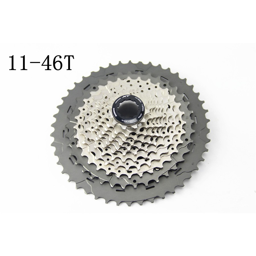 38cc561c34 SHIMANO Deore XT CS-M8000 Cogs Freewheel Mountain MTB Bike cassettes 11  speed M8000 Cassette Sprocket 40T 42T 44T