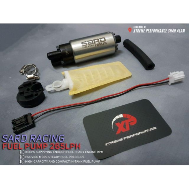ITEM 19: , Sard Racing Fuel Pump 260LPH High Performance In-Tank Fuel Pump