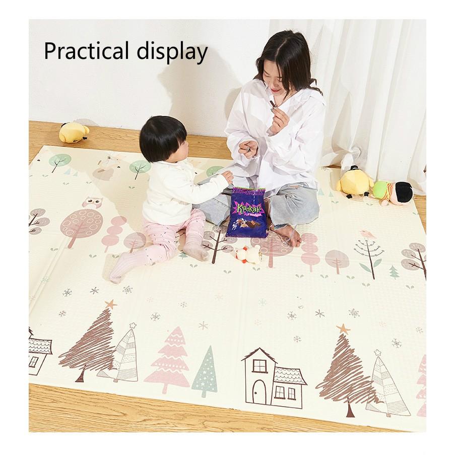 Boobe Crawling carpet Baby playmat Increase the thickness of high-density  XPE