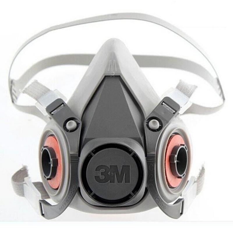 Face 3m 7 Gas Respirator Mask Pcs 6001 Spraying Painting Suit 6200