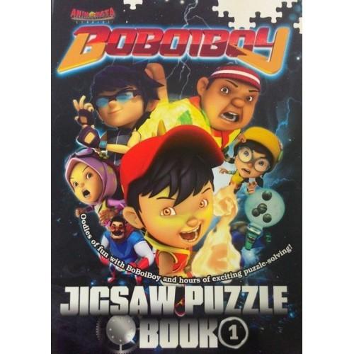 Boboiboy : Jigsaw Puzzle Book 1 (L189,R15,BL189)