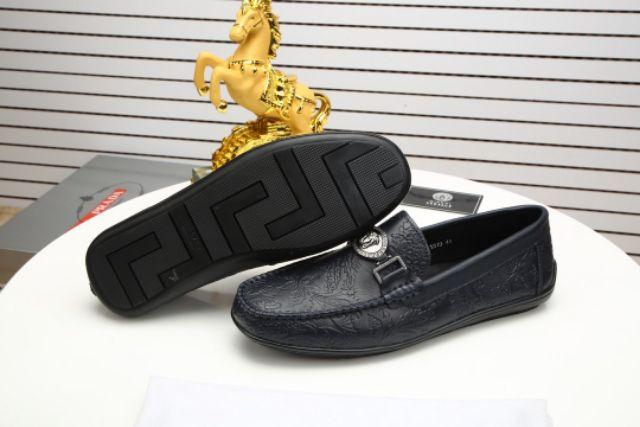 Versac2020 Casual Loafers Slip Ons Men Women (Black) Premium - 38-45 EURO