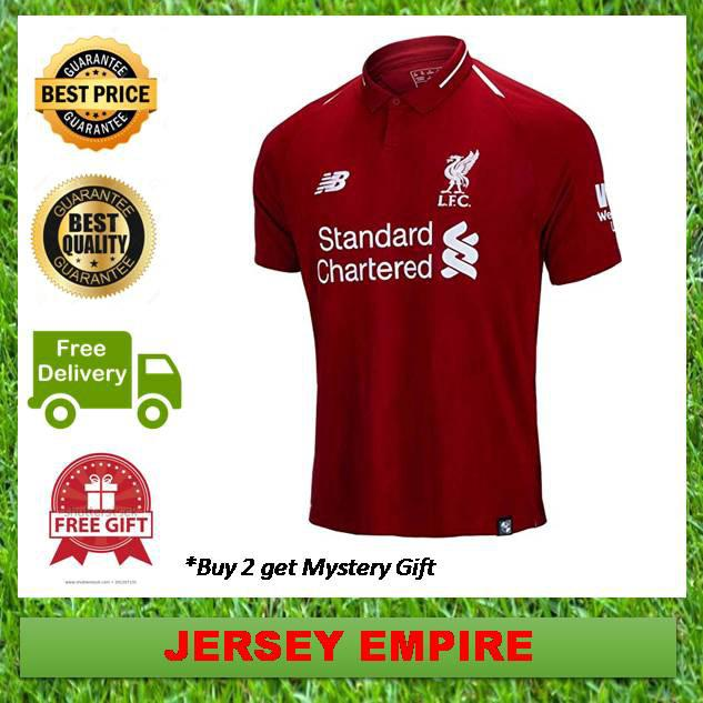 super popular 901c3 1c7b4 Football Jersey Home Kit 18/19 NB-TOP (Ready Stock) Liverpool