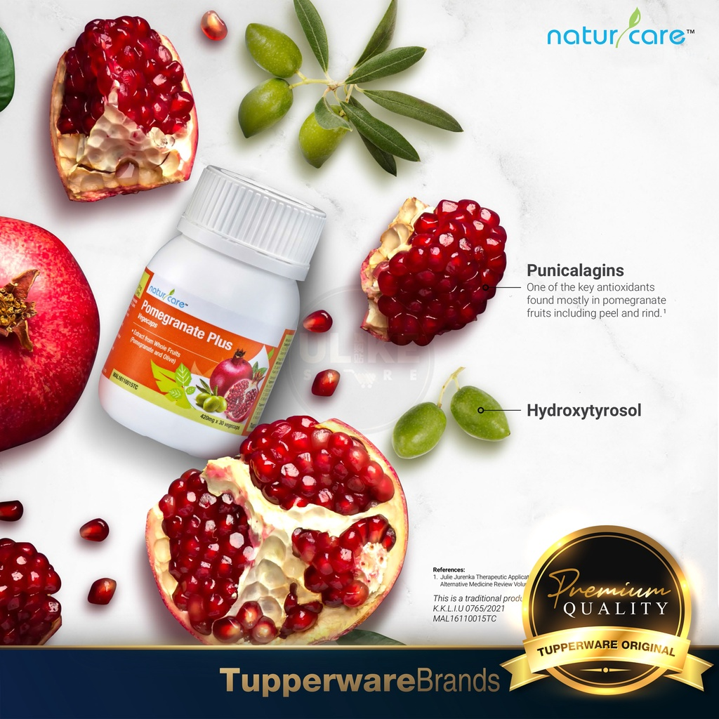 Original TUPPERWARE | NaturCare Pomegranate Plus Olive [Ready Stock]