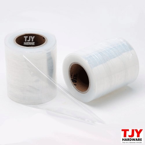 ( 2 Rolls) 100mm x 250g Stretch Film Transparent Clear