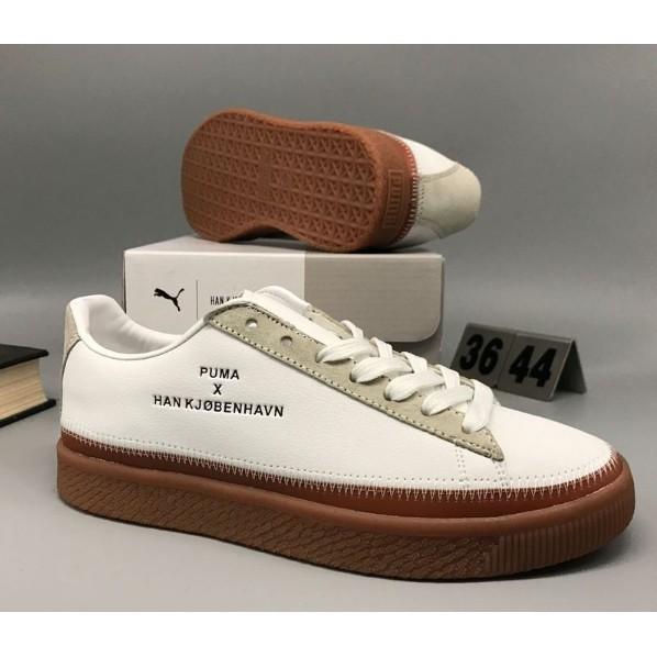promo code b94c7 7c0d4 Arrival HIGH/SA PUMA X HAN KJOBENHAVN CLYDE STITCHED Unisex Badminton Shoes