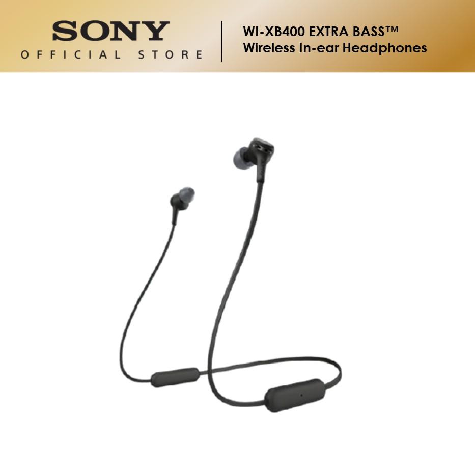 Sony WI-XB400 Extra Bass Wireless In-Ear Headphones