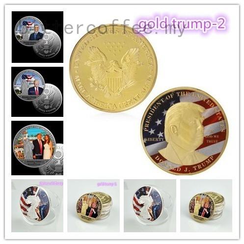 American Souvenir Coin US 44th President Barack Obama Commemorative Silver Coin