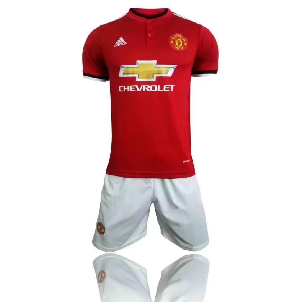 promo code 75942 35f69 New Sesion Manchester United Home 2017/18 Adizero