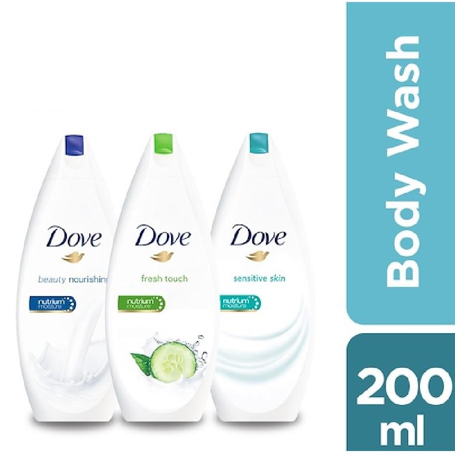 Dove Nourishing Body Wash Nutrium Moisture 200ml Shopee Malaysia