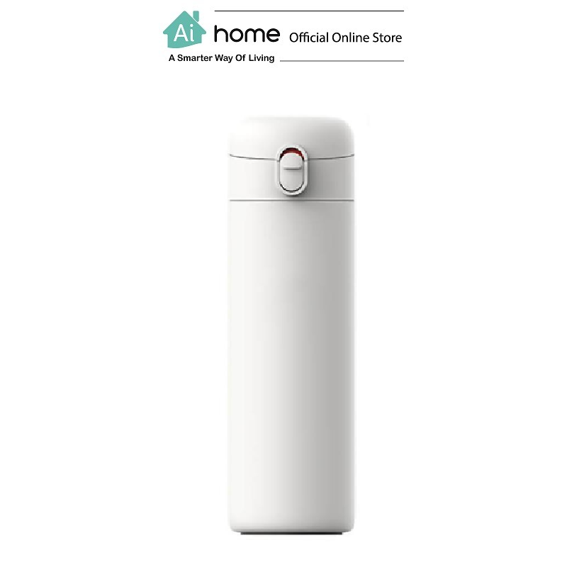PINLO Spring Cover Thermos Cup 530ML (White) [ Ai Home ]