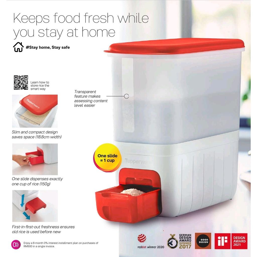 Tupperware Rice Smart 10kg (Red)