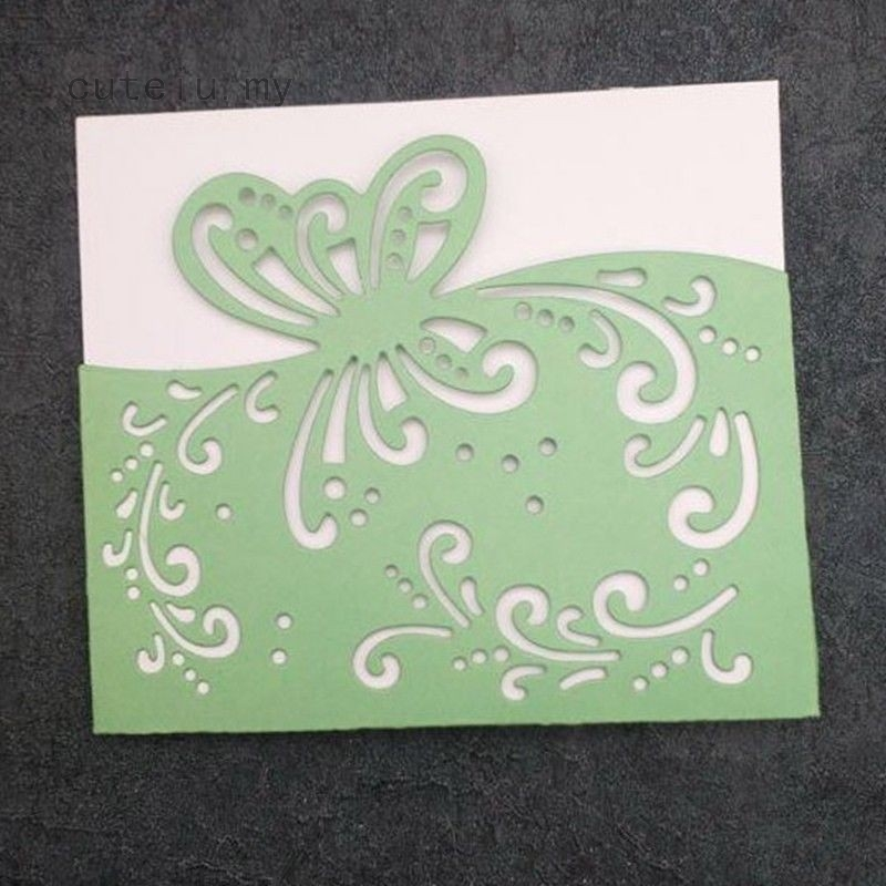 Butterfly Cover Cutting Dies Stencil DIY Scrapbook Album Paper Card Embossing