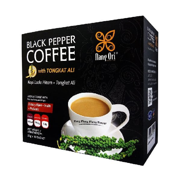 Black Pepper Coffee With Tongkat Ali