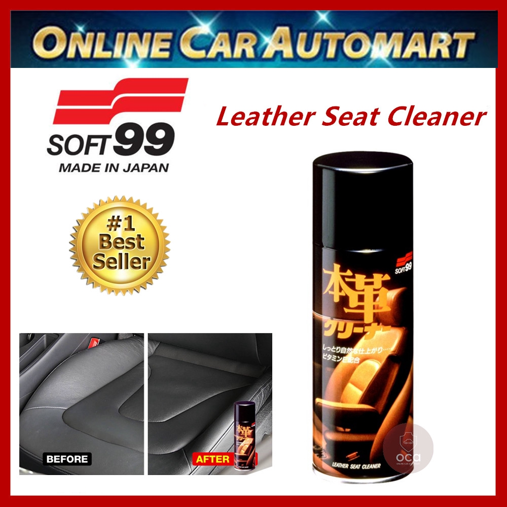 ( Free Gift ) Soft 99 Genuine Leather Seat Cleaner Spray Type - 300ml