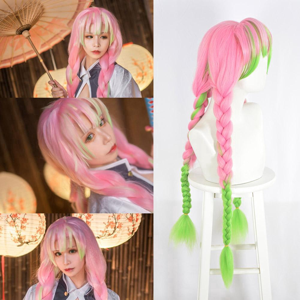 Demon Slayer Kimetsu No Yaiba Kanroji Mitsuri Cosplay Hair Braided Anime Wigs F2e7 Shopee Malaysia If there is a slight color difference between the actual object and the picture between the shooting light and the display, please refer to the actual product, thank you for your understanding! demon slayer kimetsu no yaiba kanroji mitsuri cosplay hair braided anime wigs f2e7