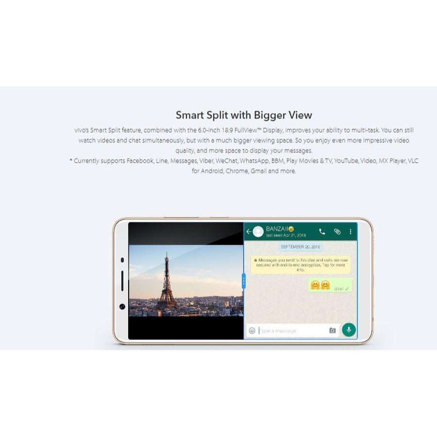 "🇲🇾 Ori ViVO Y71 [32GB + 3GB RAM] 4G LTE Dual Sim ""Face Access"" ''Gesture Navigation"" [1 Month Warranty]"